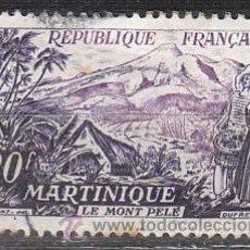 Sellos: FRANCIA IVERT Nº 1041, SERIE TURISTICA 1955: MARTINICA, USADO. Lote 35231142