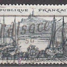 Sellos: FRANCIA IVERT Nº 1037, SERIE TURISTICA 1955: MARSELLA, USADO. Lote 58322753