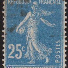 Sellos: FRANCIA 1906-37 SCOTT 168 SELLO SEMBRADOR 25C USADO FRANCE . Lote 28247680