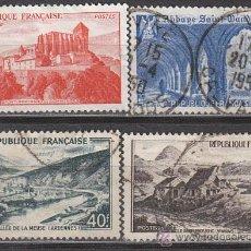 Sellos: FRANCIA IVERT 841/3, MONUMENTOS Y SITIOS 1949, USADO (SERIE COMPLETA). Lote 28986720