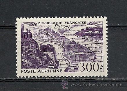 FRANCIA 1949, YVERT AEREO Nº 26**, VISTAS AEREAS DE CIUDADES. (Sellos - Extranjero - Europa - Francia)