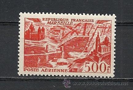 FRANCIA 1949, YVERT AEREO Nº 27**, VISTAS AEREAS DE CIUDADES. (Sellos - Extranjero - Europa - Francia)