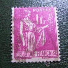 Sellos: 1937 FRANCIA, YVERT 369. Lote 30554176