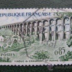 Sellos: 1960 FRANCIA, VIADUCTO DE CHAUMONT, YVERT 1240 . Lote 30606294