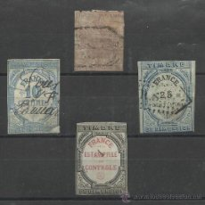 Sellos: TIMBRE IMPERIAL Y RAREZAS DE TIMBRES FRANCESES. Lote 30632531
