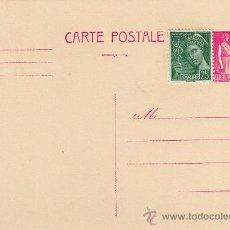 Sellos: FRANCIA, ENTERO POSTAL 1938 TIPO PAIX. Lote 31326768