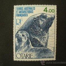 Sellos: TAAF ANTARTIDA FRANCESA 1978 AEREO IVERT 54 *** FAUNA - LOBO DE MAR. Lote 31799466