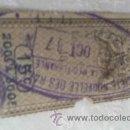 Sellos: SELLO COMERCIAL SIGLO XIX REGT-TIMBRE DOME.15C 1887. Lote 33081720