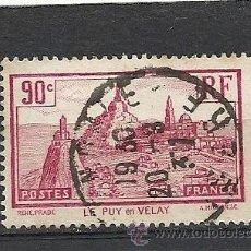 Sellos: FRANCIA 1933, YVERT Nº 290, LE PUY EN VELAY. MATASELLADO. Lote 33358467
