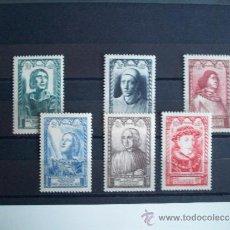 Sellos: SERIE COMPLETA DE FRANCIA DEL AÑO 1946 YVERT 765/70 EN NUEVO **. Lote 34346868