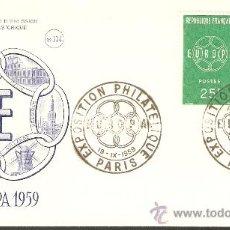 Sellos: EUROPA FRANCIA 1959. Lote 34503615