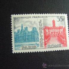 Selos: FRANCIA ,Nº YVERT 1176***AÑO 1958. UNION PARIS-ROMA. Lote 35403897