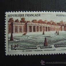Selos: FRANCIA ,Nº YVERT 1059***AÑO 1956. GRAN TRIANON DE VERSALLES. Lote 35646997