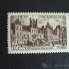 Selos: FRANCIA ,Nº YVERT 878***AÑO 1951. CASTILLO DE FONTAINEBLEAU. Lote 35486543