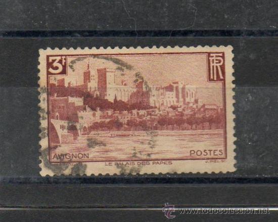 FRANCIA=YVERT Nº 391=PALACIO DEL PAPA=AÑO 1938=CATALOGO 4.60 €=REF:0223 (Sellos - Extranjero - Europa - Francia)