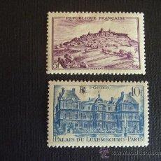Sellos: FRANCIA ,Nº YVERT 759/0***AÑO 1946. SITIOS Y MONUMENTOS. Lote 36037882