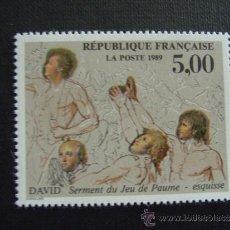 Sellos: FRANCIA ,Nº YVERT HB 11***AÑO 1989.BICENTENARIO REVOLUCION FRANCESA Y DERECHOS DEL HOMBRE. Lote 36582523
