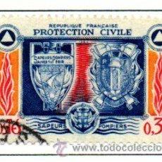 Sellos: FRANCIA.- CATÁLOGO YVERT Nº 1404, SERIE COMPLETA EN USADO. Lote 37451296