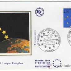 Sellos: SOBRE PRIMER DIA - FRANCIA - 46 SALON FILATELICO DE OTOÑO 1992. Lote 38801321