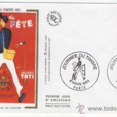 Sellos: SOBRE PRIMER DIA - FRANCIA - DIA DEL SELLO 1993. Lote 38801370
