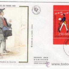 Sellos: SOBRE PRIMER DIA - FRANCIA - DIA DEL SELLO 1993. Lote 38801384