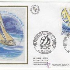 Sellos: SOBRE PRIMER DIA - FRANCIA - LOS TRABAJADORES DE CORREOS DEL MUNDO 1993. Lote 38801424