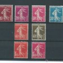 Sellos: FRANCE, YEAR 1924, N º 189/96, WITH HINGE, CAT. 42 EUROS,FRANCIA, AÑO 1924, Nº 189/96, CON CHARNELA,. Lote 39346748