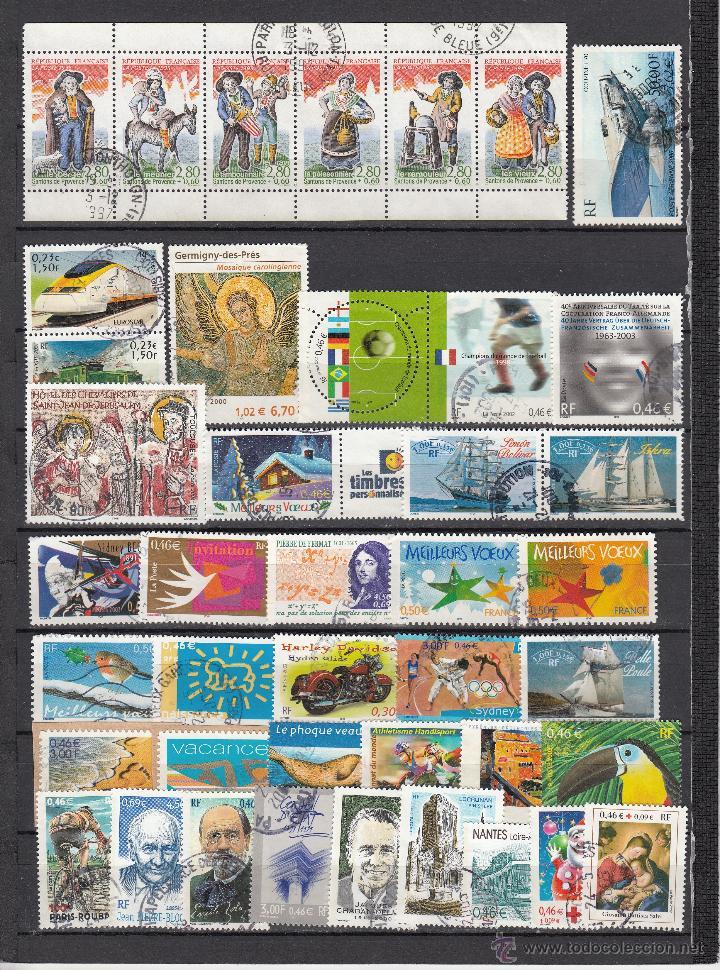 .LOTE FRANCIA DE 248 SELLOS DIFERENTES, + FOTOS (Sellos - Extranjero - Europa - Francia)