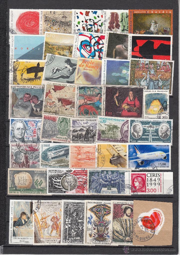 Sellos: .lote francia de 248 sellos diferentes, + fotos - Foto 2 - 42826815