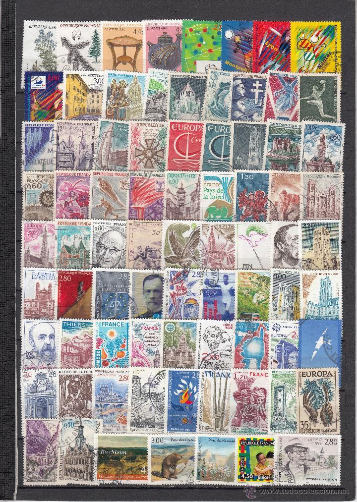 Sellos: .lote francia de 248 sellos diferentes, + fotos - Foto 3 - 42826815