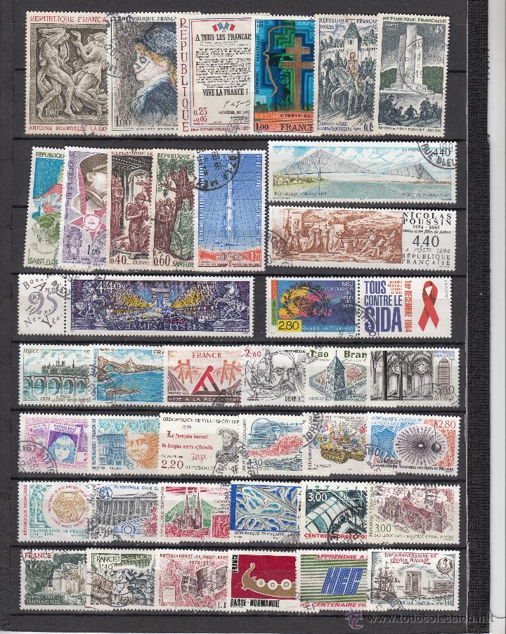 Sellos: .lote francia de 248 sellos diferentes, + fotos - Foto 4 - 42826815