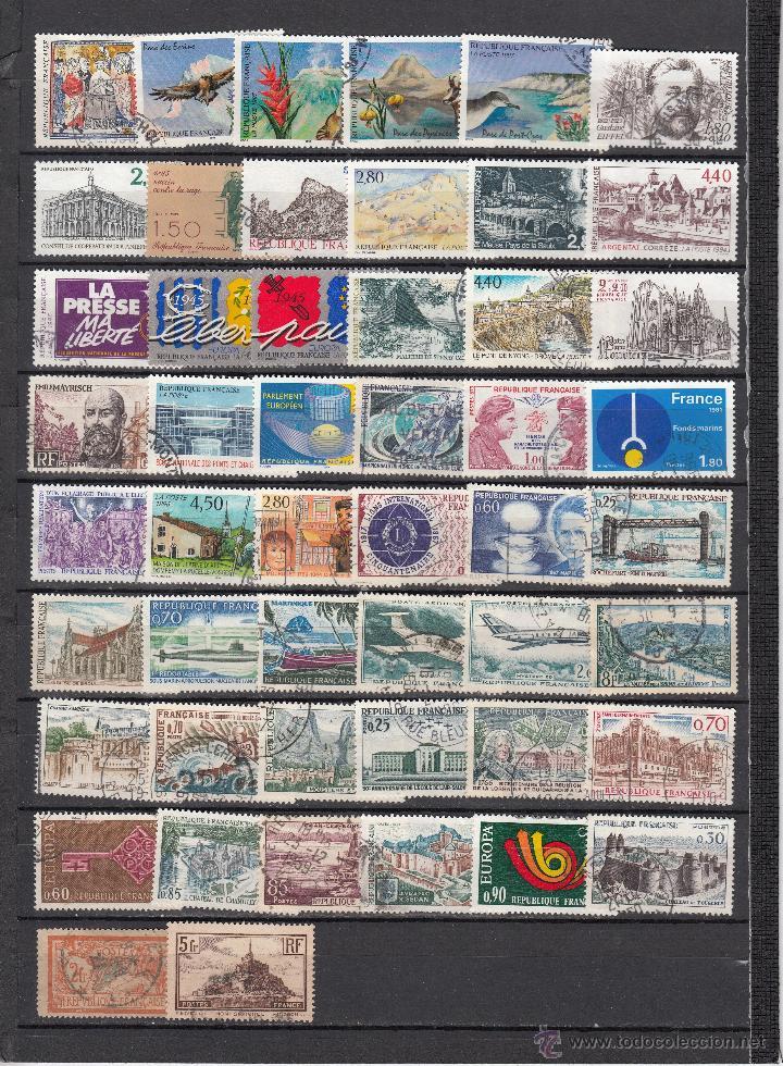 Sellos: .lote francia de 248 sellos diferentes, + fotos - Foto 5 - 42826815