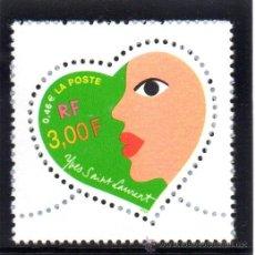 Sellos: FRANCIA.- SELLO YVERT Nº 3296 EN NUEVO SIN SEÑAL DE FIJASELLOS. Lote 43399681