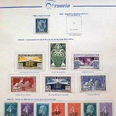 Sellos: SELLOS DE FRANCIA 1924 - 1927 NUEVOS. Lote 45793914