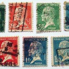 Sellos: SELLOS FRANCIA, LOUIS PASTEUR - 1923 1926. Lote 45793969