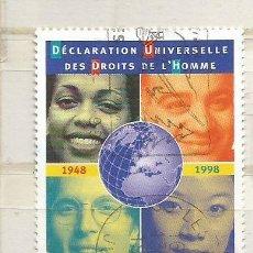 Sellos: 1998 FRANCIA. 50 ANIVERSARIO DECLARACIÓN DERECHOS HUMANOS. Lote 47151113