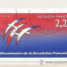 Sellos: 1989 FRANCIA. BICENTENARIO DE LA REVOLUCIÓN FRANCESA. Lote 47240853