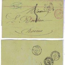 Sellos: 1857. CARTA CIRCULADA DESDE NIZA A MARSELLA . Lote 47933406