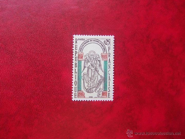 FRANCIA 1966, YVERT 1482, MNH-SC (Sellos - Extranjero - Europa - Francia)