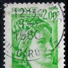 Sellos: FRANCIA 1977- YV 1977. Lote 50083324