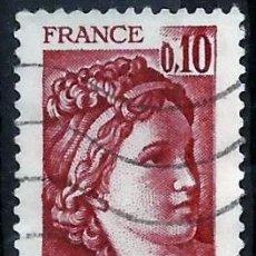 Sellos: FRANCIA 1977- YV 1965. Lote 50083381