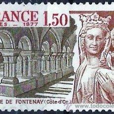 Sellos: FRANCIA 1977- YV 1938. Lote 160520101