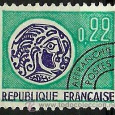 Sellos: FRANCIA 1969- YV PR125 (PRE-CANCELADOS). Lote 50261162