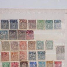 Sellos: LOTE DE 406 SELLOS USADOS MUCHOS VALORES FRANCIA 1877-1990. Lote 54628132