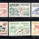 Sellos: FRANCIA 960/65* - AÑO 1953 - JUEGOS OLÍMPICOS DE HELSINKI . Lote 51398198