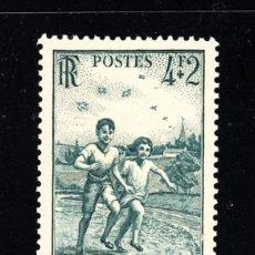 Sellos: FRANCIA 740** - AÑO 1945 - PRO CRUZADA DEL AIRE PURO. Lote 177756012