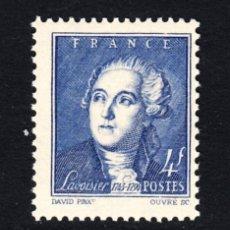 Sellos: FRANCIA 581** - AÑO 1943 - ANTOINE LAURENT DE LAVOISIER. Lote 177846908