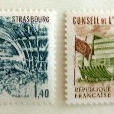 Sellos: SELLOS FRANCIA 1981. CONSEJO DE EUROPA. NUEVOS.. Lote 52918195