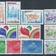Sellos: R6/ FRANCIA, LOTE DE SERVICIO, CATALOGO 11 €, NUEVOS**. Lote 53299343