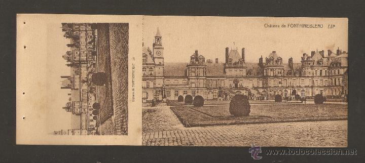 FRANCIA. CARTA POSTAL PARÍS. CHATEAU DE FONTAINEBLEAU (Sellos - Extranjero - Europa - Francia)